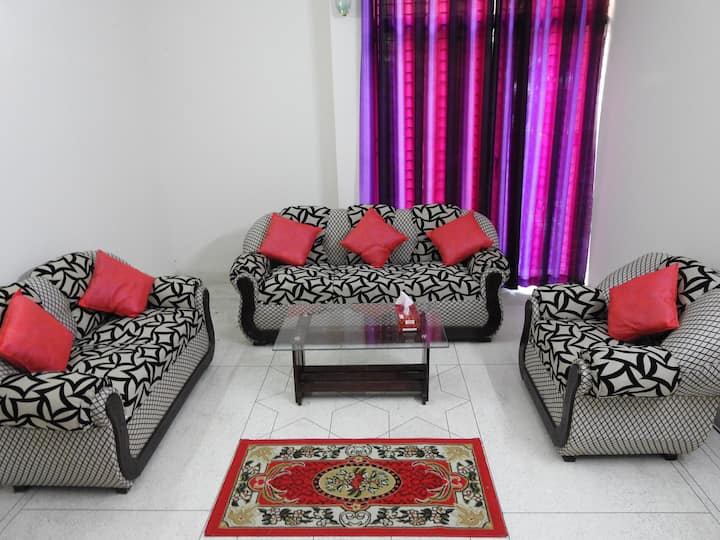 Fully Furnished  Cozy Spacious Apartment in Dhaka.