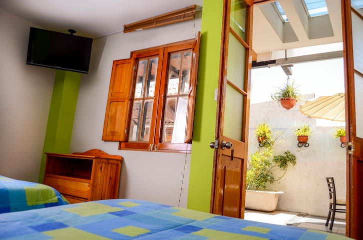 Nice and cosy twin room ensuite - Arequipa - Bed & Breakfast