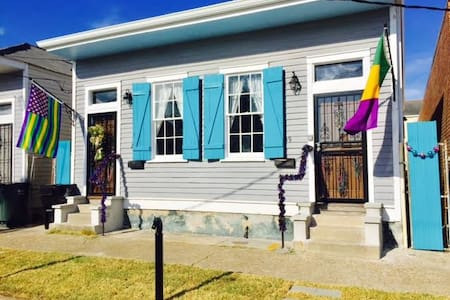 Turquoise House - In the Heart of New Orleans - Nueva Orleans - Casa