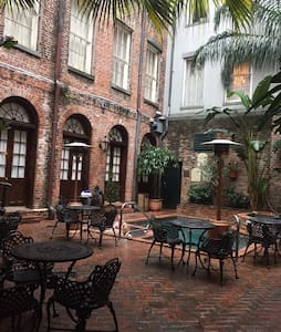 A suite in the Quarter in early Spring. - New Orleans