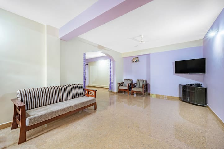 Splendid 2 BHK for 6, near Candolim Beach/74281