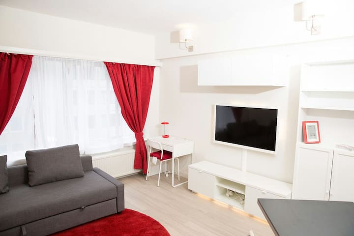 Luxury Studio In the EU Area - Bruxelles - Huoneisto