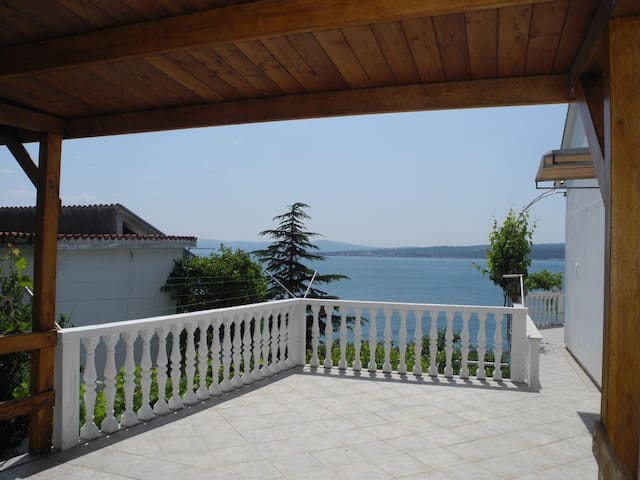 Terrace - sea view