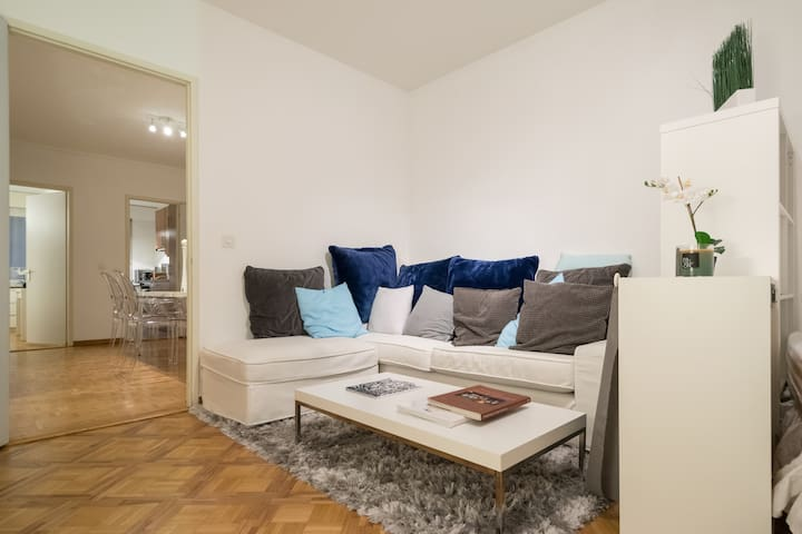 Beautiful flat in the art and literature district - Женева - Квартира