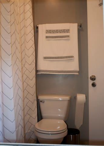 Clean new towels