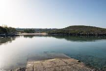 Tersanas sandy beach 200m away from Alianthos Villa