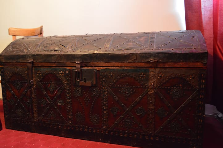 Antique chest from y.1888