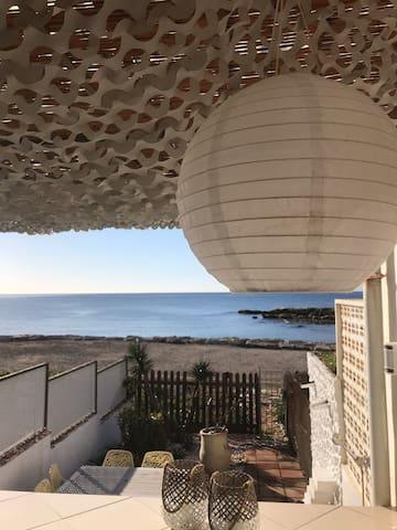 Unikt strandhus i Estepona med alle fasiliteter