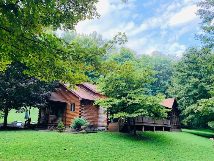 Tygart Lake Woodland Cabin