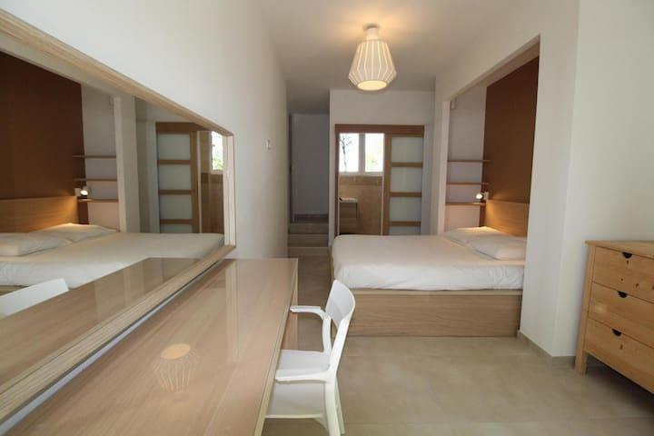 Suite parentale avec lit 160, sdb et wc privatifs