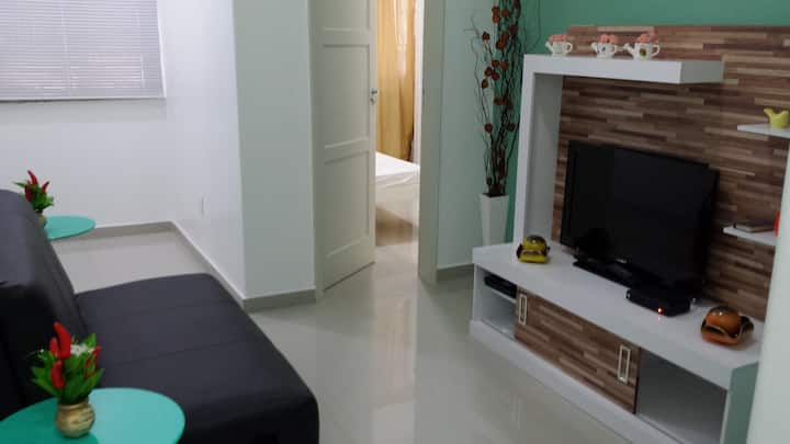 New, complete and comfortable apartment.