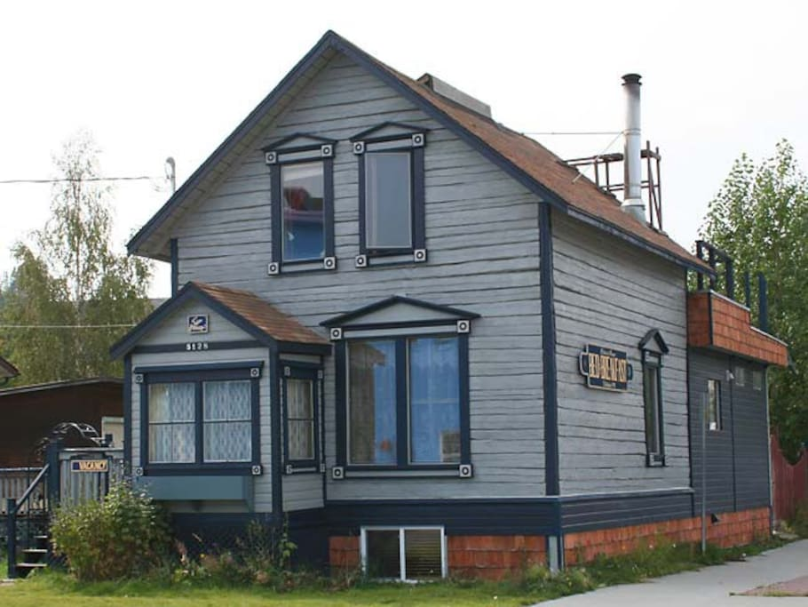 Full picture of the Historical Guest House B&B, built in 1907 for Sam McGee and his family