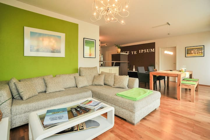 Central, clean and stylish 1 BR - 海爾布隆(Heilbronn)