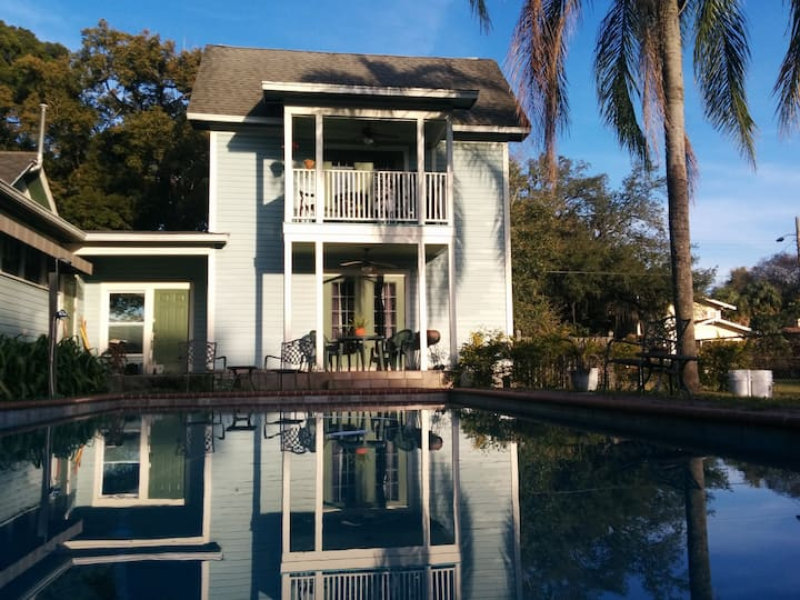 2 story cottage in Seminole Heights