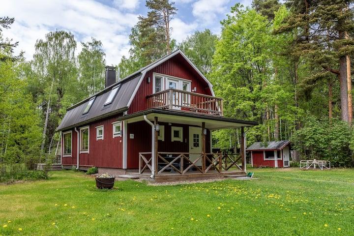 Saunojan unelmapaikka -> 135 km Helsingistä