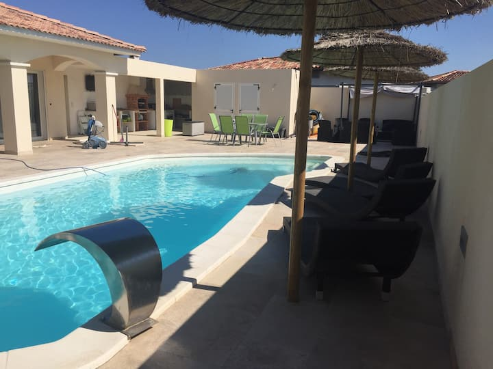 Villa récente 140 m2 avec piscine