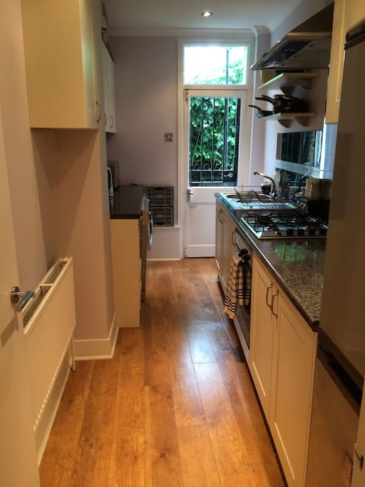 Small but perfectly formed and well-equipped kitchen - feel free to use it.