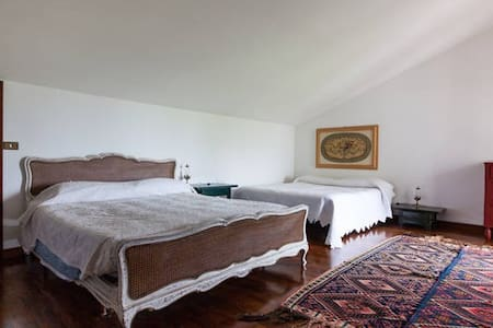 Quadruple room in Romantic Country House - Ravenna