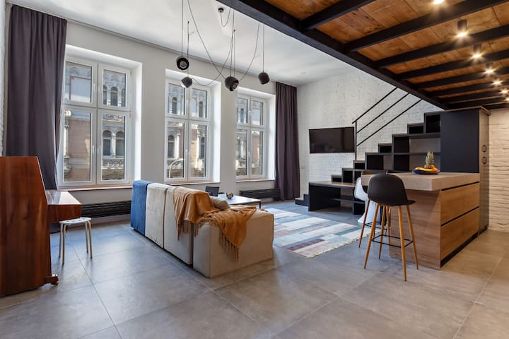 Bright and airy and open