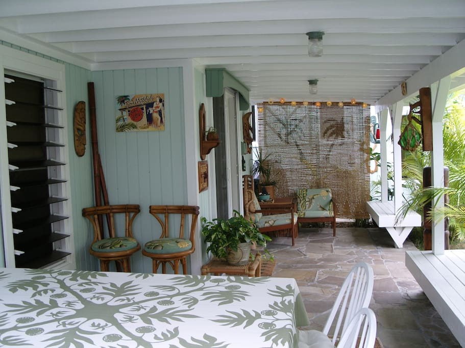 """The cottage lanai is the favorite """"room in the house"""""""