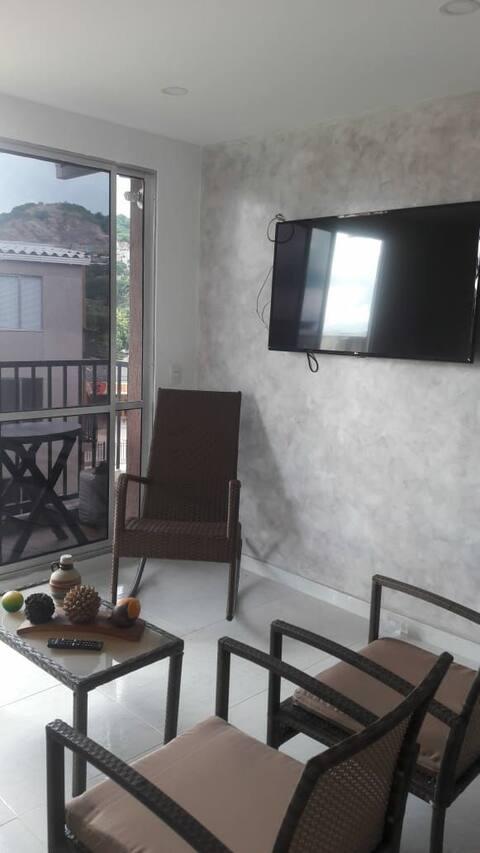 Apartamento vía parque Tayrona y playas aledañas.