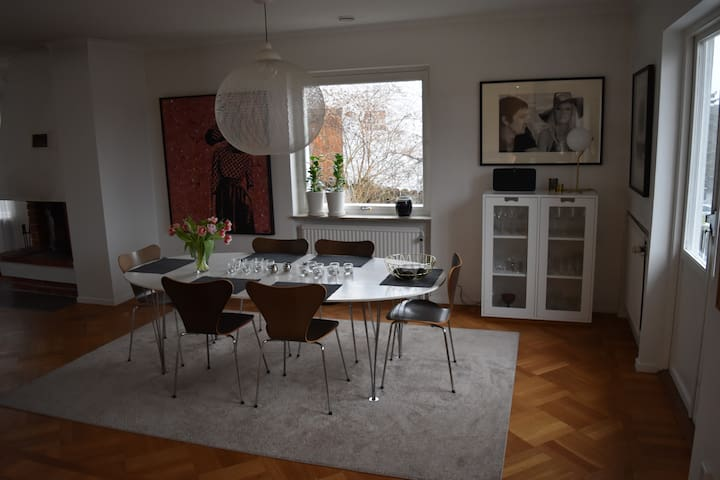 Modern spacious family house, Lidingö Stockholm