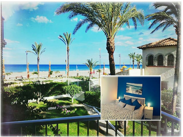 First line of sea with spectacular view (Wifi+A/A) - Alacant - Apartment