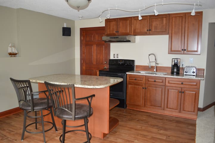 Private entrance Large apartment 1 br 1 ba kitchen - White Bear Lake - Haus