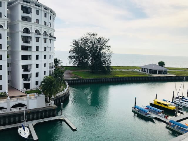 Sea View Studio Unit Condominium Port Dickson