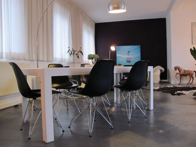 Stylish apartment in the city center of Ghent. - Gand - Loft