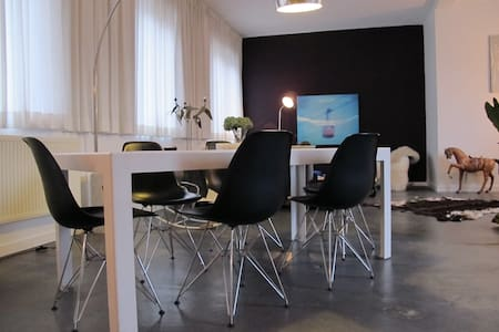 Stylish apartment in the city center of Ghent. - Gent