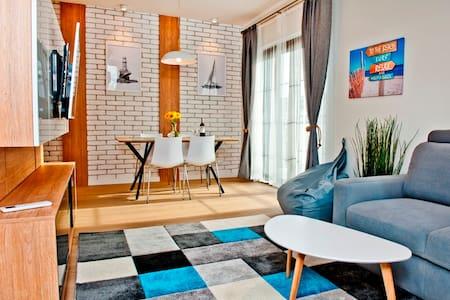 Apartament przy plaży/ By the beach apt - HA3 - Jastarnia - Apartemen