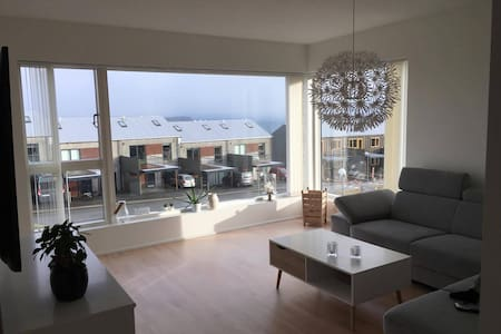 Apartment with view over Tórshavn city. - Argir - Lejlighed