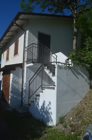 Entrance up the stairs