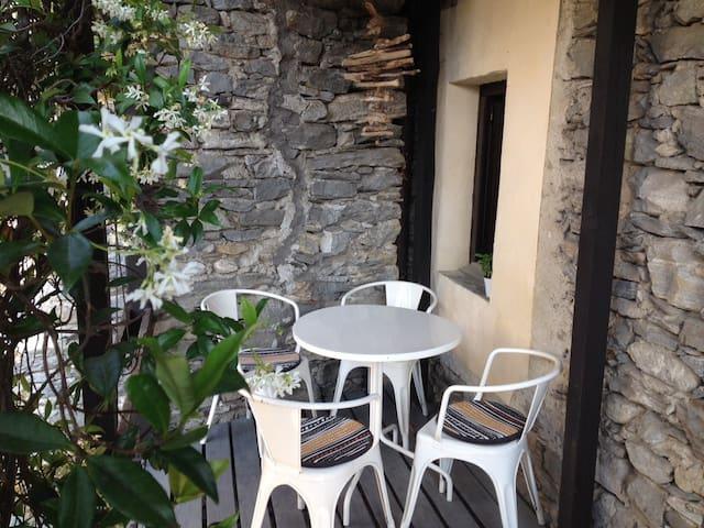 Rustico im Dorfkern von Verscio nähe Locarno