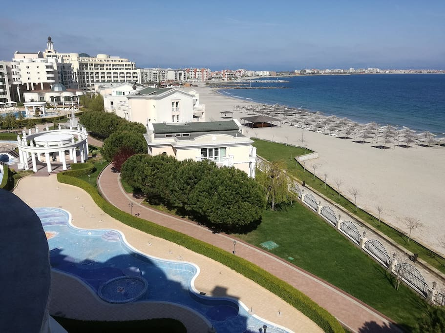 View from it's balcony