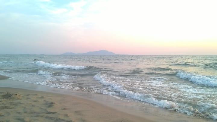 Soggiorno in villa sul mare a Ischitella Lido-Ce