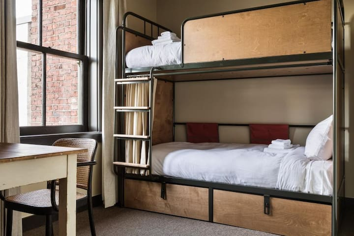 KEX Portland-Bunk in Eight Bed Shared Room Ensuite