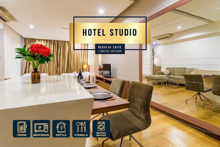 *Hotel Studio Suite* KLCC View Pool @ Regalia