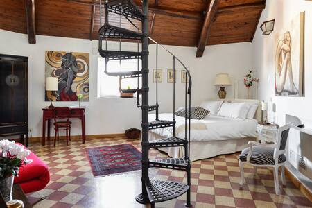 Charming double room in Colosseo area - Roma - Apartamento