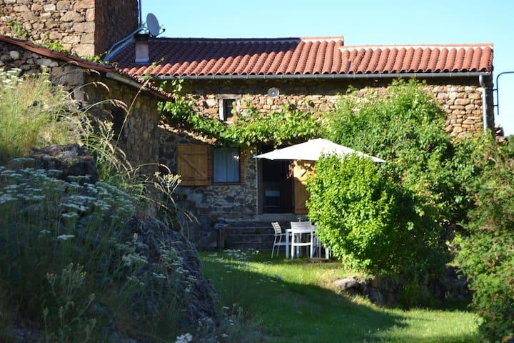 Former farm in the Gorges de l'Allier,Southern Auvergne.