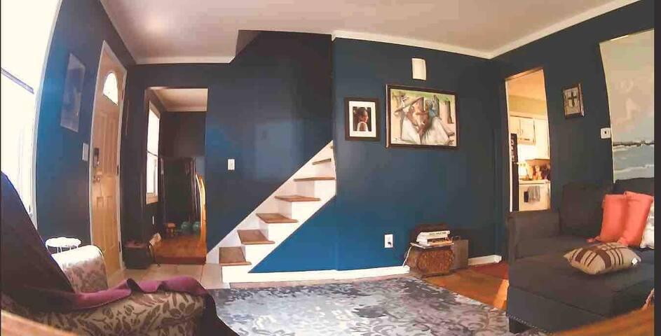 Quiet living room space