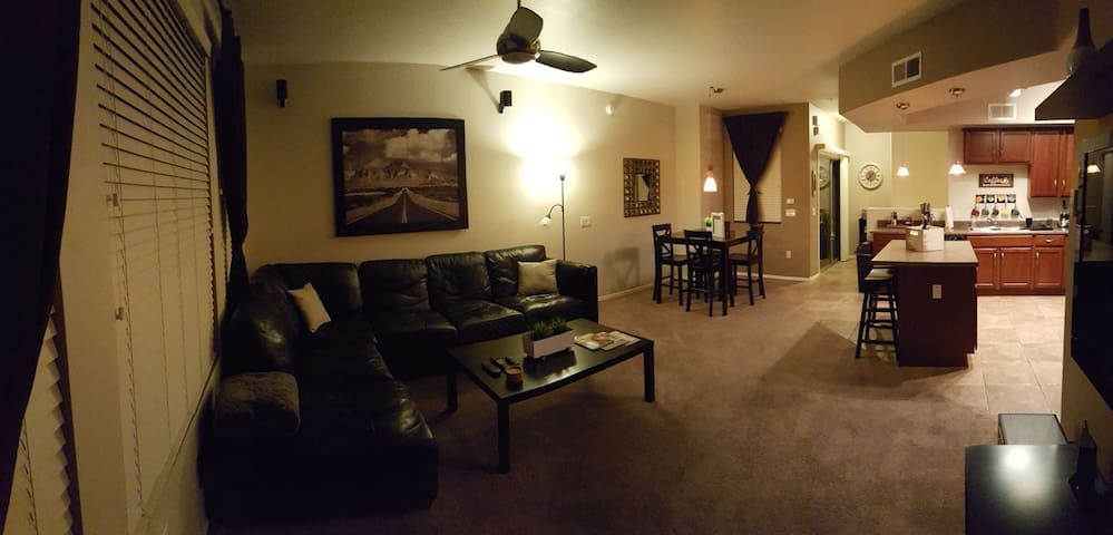 2nd floor living & dining area.
