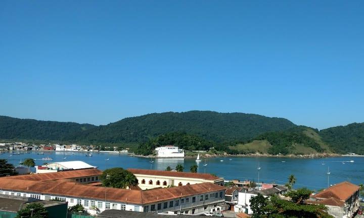 De frente pra Fortaleza da Barra