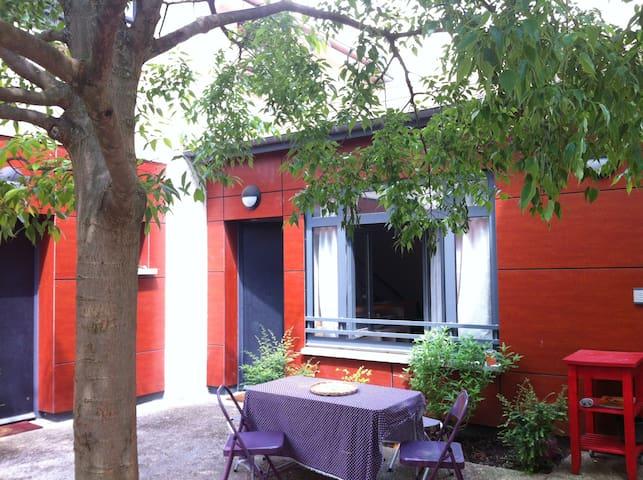 """LOFT 75m2 + jardin 15"""" Paris centre - Fontenay-sous-Bois - Loft"""