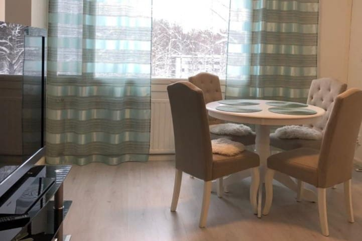Nice 2 room apt - Lahti with WiFi internet 100 Mb