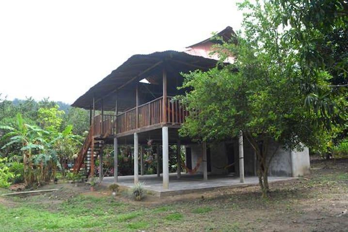 Tayrona el sueño, Cabaña en granja familiar