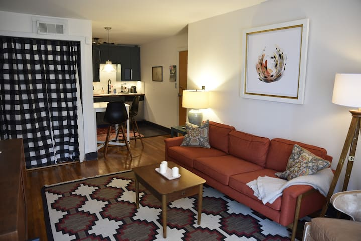 newly renovated traveler's suite