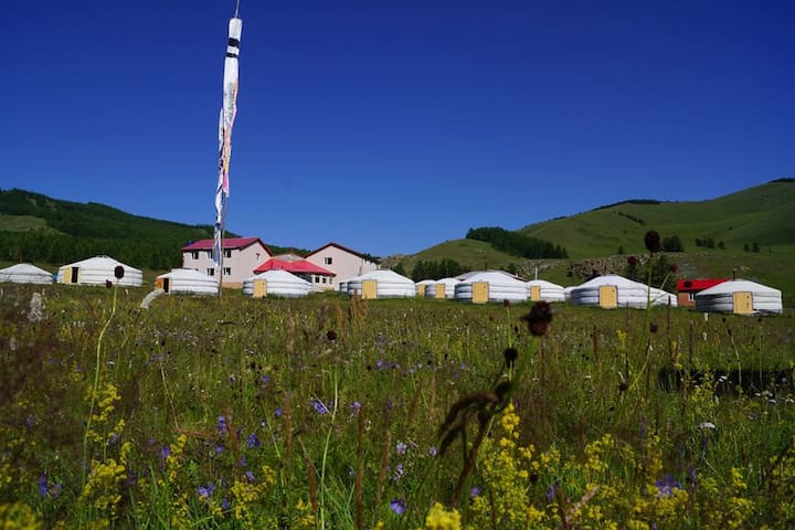 Mongolian Traditional Ger
