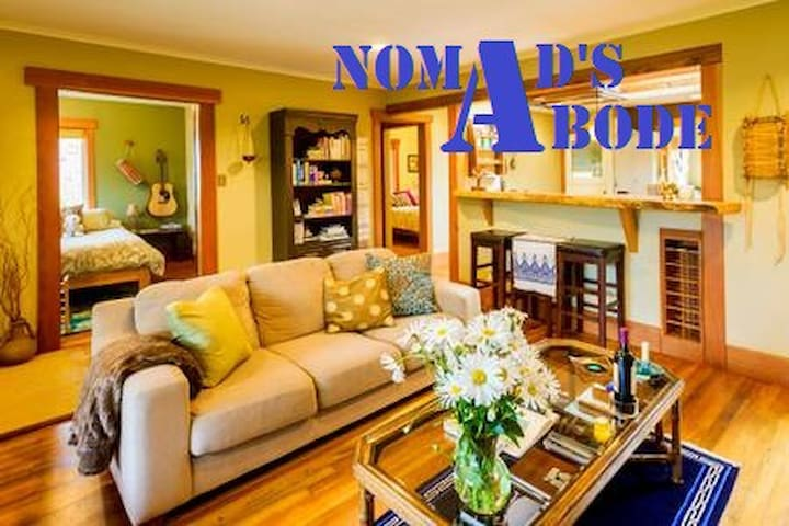 Nomad's Abode(ht tub+walk dwtn)*USE 2o19-ooo9